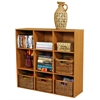 Venture Horizon Project Center Bookcase, 39 x 11-1/2 x 36, Oak