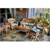 Portside 6Pc Seating - Amber - Miranda Terrace Chamomile