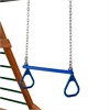 "21"" Trapeze Bar w/ Rings - Blue"