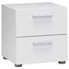 Pepe 2 Drawer Nightstand, White