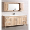 Sink Vanity With Mirror, Desert Sand