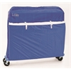 Nylon crib cover, Blue