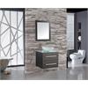 "MTD Vanities Cuba 24"" Single Sink Wall Mounted Bathroom Vanity Set, Espresso"