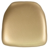 Flash Furniture Hard Gold Vinyl Chiavari Chair Cushion
