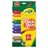 BINNEY & SMITH / CRAYOLA Twistables Slick Stix, Assorted, 12/Set