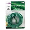 Belkin CAT5e Snagless Patch Cable, RJ45 Connectors, 50 ft., Green