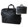 Bond Street Tech-Rite Tech-Rite Computer/Business Case, Leather-Look, 16 x 4 x 12-1/4, Black