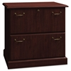Bush Syndicate Collection Two-Drawer Lateral File, Harvest Cherry