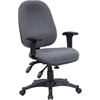 Flash Furniture Mid-Back Multi-Functional Gray Fabric Executive Swivel Office Chair