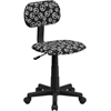 Flash Furniture Peace Sign Printed Swivel Task Chair