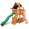 Chateau Tower Swing Set w/ Amber Posts