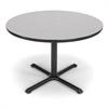 42 Round Multi-Purpose Table, Gray Nebula