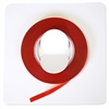 "Magna Visual 1/8"" W Red Vinyl Chart Tape"
