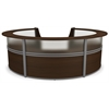 5-Unit Marque Reception Station, Walnut