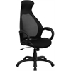 Flash Furniture High Back Black Mesh Executive Swivel Office Chair
