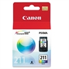Canon 2976B001 (CL-211) Ink, 244 Page-Yield, Tri-Color