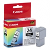 Canon BCI24BK (BCI-24) Ink Tank, 520 Page-Yield, Black