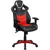 Flash Furniture High Back Rosso Corsa Red Vinyl Executive Swivel Office Chair with Inner-Coil Spring Comfort Seat and Red Base