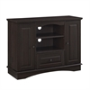 "42"" Espresso Wood Highboy TV Stand"