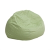 Flash Furniture Small Green Dot Kids Bean Bag Chair