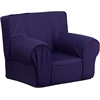 Flash Furniture Small Solid Navy Blue Kids Chair