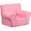 Flash Furniture Small Solid Light Pink Kids Chair