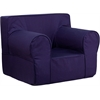 Flash Furniture Oversized Solid Navy Blue Kids Chair