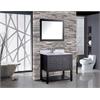 "MTD Vanities Norway 36"" Single Sink Bathroom Vanity Set, Espresso"