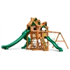 Malibu Deluxe II Swing Set w/ Amber Posts