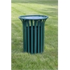 Frog Furnishings 20 Gal. Green Providence Receptacle