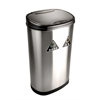 NINE STARS MOTION SENSOR TRASH CAN, 16.5 X 11.5 X 26.5