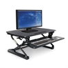 Height Adjustable Sit-to-Stand Desktop Riser with Keyboard Tray