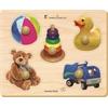 Edushape Large Knob Puzzle - Toys