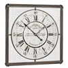 Cooper Classics Bartow Clock, Distressed Cream Finish