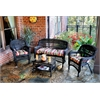 Portside 4Pc Seating - Dark Roast - Eastbay Pompeii