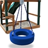 360° Turbo Tire Swing - Blue
