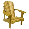 Rustic Cedar Bear Chair Adirondack