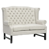 Fairfield Beige Linen Loveseat