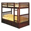 Espresso Tall Queen Captain S Platform Storage Bed With 12