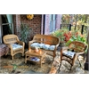 Tortuga Outdoor Portside 4Pc Seating - Amber - Miranda Terrace Chamomile