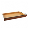 HON Laminate Angled Center Drawer, 26w x 15-3/8d x 2-1/2h, Bourbon Cherry