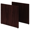 "HON Preside Slab Base, 28-3/8"" High, Mahogany, Pair"