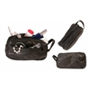 Bond Street Patch Leather Design Travel Shaving Toiletrie Case