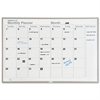 Monthly Planning Board, Porcelain-on-Steel, 48 x 36, Gray