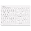 Magna Visual 120-Day Planning Board, Porcelain-on-Steel, 48 x 36, Gray