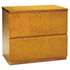 Luminary Series Wood Veneer 2-Drawer Lateral File, 34-3/4w x 20d x 29h, Maple