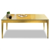 Luminary Series Wood Veneer Table Desk, 72w x 36d x 29h, Maple