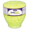 E-A-Rsoft Neon Tapered Earplug Refill, Cordless, Yellow