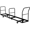 Flash Furniture Vertical Storage Folding Chair Dolly - 50 Chair Capacity