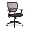 SPACE Air Grid Mid-Back Swivel Chair, Black, 20-1/2 x 19-1/2 x 42h